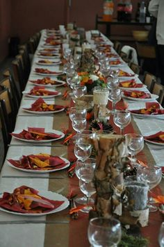 ... wedding on Pinterest  Fall wedding decorations, Deco and Tables