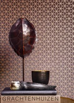 boutique galerie wallpaper #copper #metallic #homedecor Copper Wallpaper, Metallic Wallpaper, Painting Wallpaper, Home Wallpaper, Galerie Wallpaper, Copper Bedroom, Living Room Designs, Living Rooms, Wall Finishes