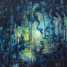 The Loss Acrylic on canvas by Allison Fox foxfiregalleries.com
