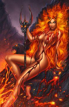 demon She girls devil