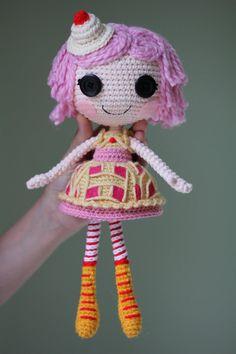 LALALOOPSY Cherry Crisp Crust Amigurumi Doll by ~Npantz22 on deviantART