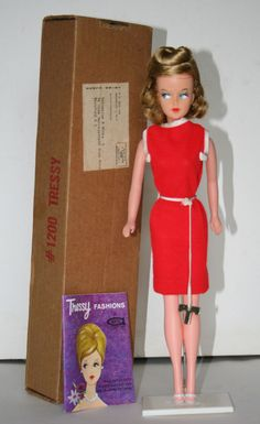 Vintage 1960s American Character Tressy Doll