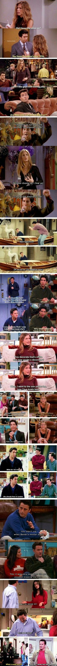 Funny Friends Quotes Humor Hilarious New Ideas Friends Tv Show, Serie Friends, Friends Moments, Friends Forever, Laughter Friends, Ross Geller, Best Tv Shows, Favorite Tv Shows, Friend Memes