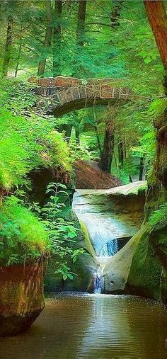 Old Man's Cave Gorge - Logan, Ohio - this is one of the prettiest parks i have ever seen. Love it!