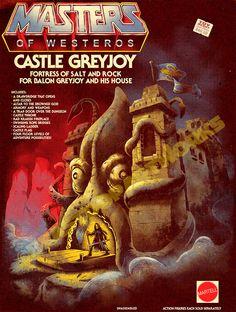 MASTERS OF WESTEROS: CASTLE GREYJOY by pop-monkey on deviantART