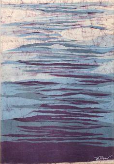 Beata Piwar, batik  #batik #art #wax