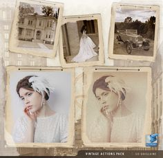 Photoshop Actions - Vintage by *So-ghislaine on deviantART