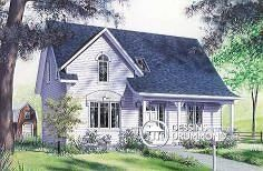 Plan de maison no. W2582 de dessinsdrummond.com