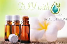 Did you know that you can make your own blends with Jade Bloom Oils? Lesson #1: Start by choosing complimentary categories Example Categories: Floral – Lavender, Jasmine, Geranium Woodsy – Cypress, Pine, Sandalwood, Frankincense Earthy – Vetiver, Patchouli, Lemongrass Herbaceous – Marjoram, Rosemary, Basil, Fennel Minty – Peppermint, Spearmint, Wintergreen Medicinal – Eucalyptus, Cajuput, Tea Tree Spicy – Coriander, Clove, Oriental – Ginger, Patchouli Citrus – Orange, Lemon, Lime…