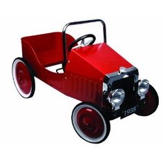 i dont like the lines or this toy perticularly to angular and boxy Great GizmosClassic Pedal Car - Red