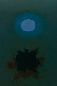Adolph Gottlieb (American: 1903 – 1974), Orb, 1964. Oil on canvas. Dallas Museum of Art,