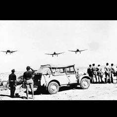 Formation of junkers ju-87 in North Africa