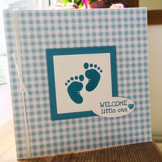 Baby card First steps stamp set By Jane Knight Independent Stampin Up Demonstrator paperknightcrafts.stampinup.net Baby Shower Cards, Baby Cards, Kids Cards, First Step, Baby Ideas, Knight, Stampin Up, Cards, Bebe