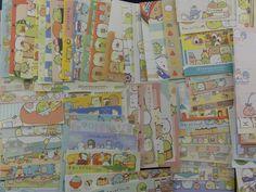 San-X Sumikko Gurashi 90 pc Mini Memo Note Paper Set - Cute Kawaii