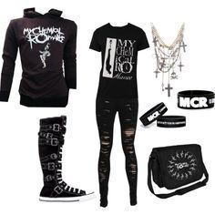 Emo clothes for both men and women - - Anything punk and classy can never go out of fashion! Emo clothes include the use of dark colors and. Cute Emo Outfits, Edgy Outfits, Grunge Outfits, Girl Outfits, Fashion Outfits, Punk Rock Outfits, Hipster Outfits, Party Outfits, Fasion