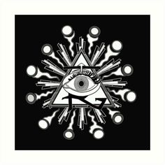 All-seeing eye for your remote viewing pleasure! • Also buy this artwork on wall prints, apparel, stickers, and more.