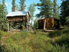 Giddings Cabin And Cache |  The post Giddings Cabin And Cache appeared first on Woodz.  #wood http://www.woodz.co/giddings-cabin-and-cache/