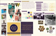 moodboard graphic design examples - Google Search