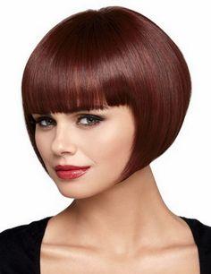 ホット販売トップ品質赤褐色カラー有名人スタイルストレート安い合成黒人女性送料無料