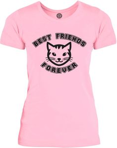 Big Texas Best Friends Kitten (Grey) Womens Fine Jersey T-Shirt