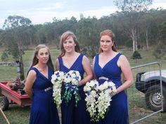Wedding Bouquets, Wedding Dresses, Wedding Ceremonies, Traditional Wedding, Buttonholes, Lilies, Spring Flowers, Blue Dresses, Groom