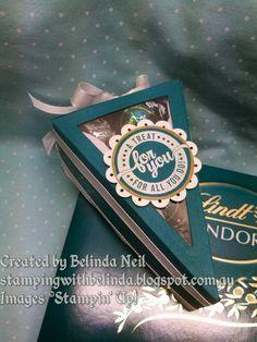 Stampin' Up! Cutie Pie Thinlits box