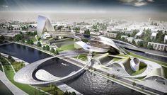 Culture Art Center Changsha / Coop Himmelb(l)au [Futuristic Architecture: http://futuristicnews.com/category/future-architecture/]