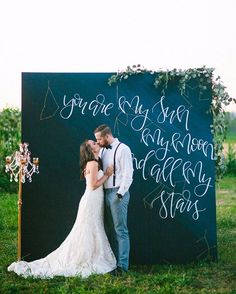 """You're my sun, my moon and all my stars 
