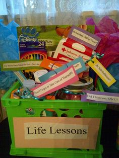 Graduation Gift Lifelessons Be Safe 1st Aid Kit Colorful Box Of
