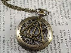 Hey, I found this really awesome Etsy listing at https://www.etsy.com/listing/207696396/harry-potter-watch-death-hallows-watch