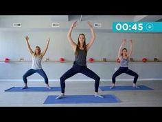 Barre-less Barre | 11-minute workout - YouTube
