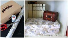 by Acasa Colt de Rai- TUTORIAL- Shoe box upcycled into a fancy storage box