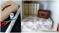 by Acasa Colt de Rai- TUTORIAL- Shoe box upcycled into a fancy storage box