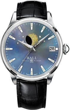 @ballwatchco  Trainmaster Moon Phase Ladies #bezel-fixed #bracelet-strap-leather #bracelet-strap-steel #brand-ball-watch-company #case-material-steel #case-width-34mm #date-yes #delivery-timescale-call-us #dial-colour-blue #gender-ladies #luxury #moon-phase-yes #movement-automatic #official-stockist-for-ball-watch-company-watches #packaging-ball-watch-company-watch-packaging #style-dress #subcat-trainmaster #supplier-model-no-nl3082d-llj-be #warranty-ball-watch-company-official-2-year-g...
