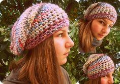 Cappello di lana a uncinetto - Istruzioni