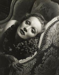 Now at FOAM (Till September)  Marlene Dietrich, 1934 © Edward Steichen / Courtesy Condé Nast Publications