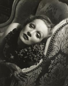 Now at FOAM (Till September)  Marlene Dietrich, 1934 © Edward Steichen / Courtesy Condé Nast Publications
