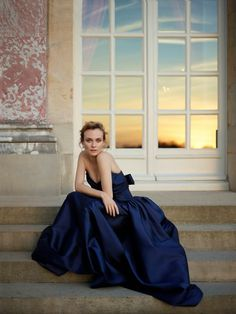 Diane Kruger by Mary McCartney for Martell