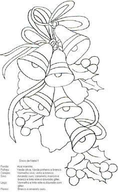 Dibujo para colorear sagrado coraz n de mar a www - Dibujos navidenos para bordar ...