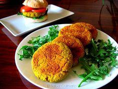 Hamburguesas de judías blancas con verduras y queso parmesano #receta #vegetariana http://blgs.co/3S7Jf6