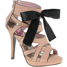 Lipsy Ribbon Tie Heeled Sandals ($52) ❤ liked on Polyvore featuring shoes, sandals, heels, scarpe, sapatos, footwear wbsandals - heeled, womenswear, strap heel sandals, ribbon shoes и strappy heel shoes