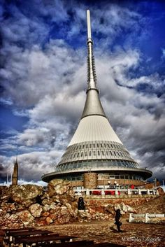 Jested Liberec Hotel Tower In Czech Republic | Floor, Hotel, Above, Floors, Mountain