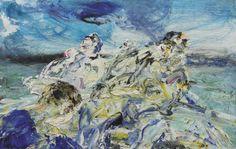 Jack Butler Yeats (Irish, Rescue Men, Oil on board, x in. Contemporary Artists, Modern Art, Jack B, Art Auction, Sirens, Dusk, Butler, Oil On Canvas, Irish