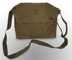 Genuine Army Messenger BAG Canvas Vintage Shoulder Bushcraft | eBay