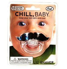 Chill, Baby Schnurrbart Schnuller: Amazon.de: Küche & Haushalt