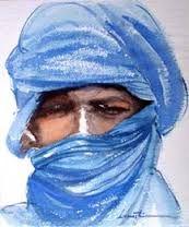 Image result for tableau peinture touaregs