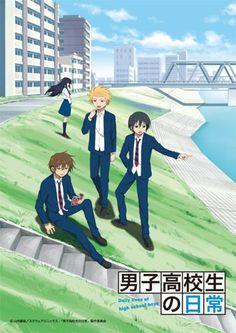 My current favorite; Comedy, parody, slapstick..  Danshi Koukousei no Nichijou  Daily Lives of High School Boys, #nichibros
