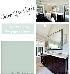 Exeter Paint color spotlight of the week Benjamin Moore's beach glass. What do you think of this selection?  #color #exeterpaint #fashions #design #benjaminmoore #shoplacal #paint