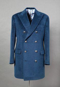 Parisian Gentleman's visit to Santandrea Milano – Parisian Gentleman Girls Black Puffer Jacket, Plus Size Winter Jackets, Dapper Suits, Mens Overcoat, Style Masculin, Mode Costume, Jacket Style, Jacket Men, Rain Jacket