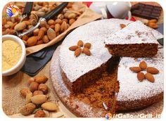 Torta di farina di Mais con Mandorle e Cioccolato
